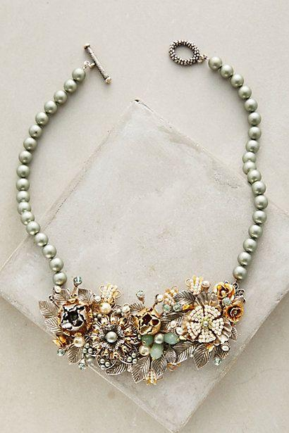 Wedding - Rosalie Bib Necklace