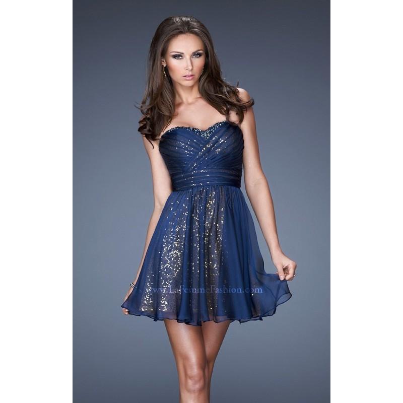 Peacock La Femme Prom Dresses