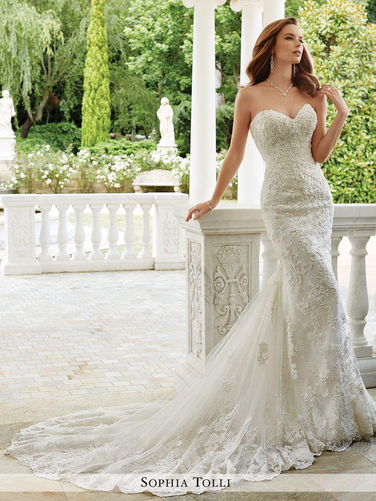 زفاف - Sophia Tolli - Napoli - Y21674 - All Dressed Up, Bridal Gown