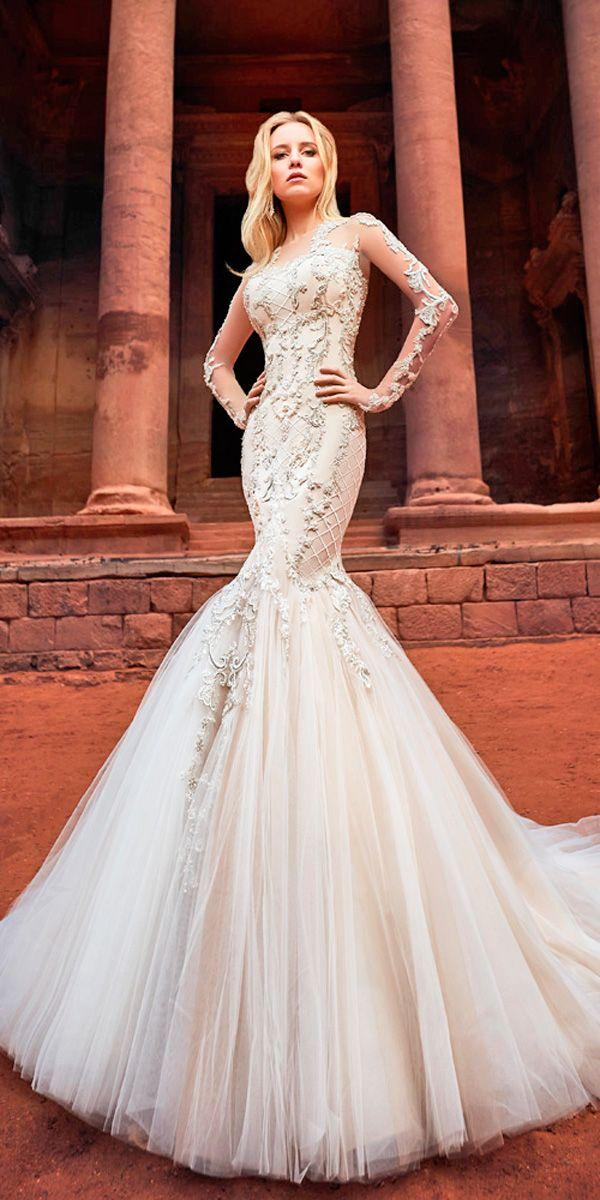 Wedding - Top 33 Designer Wedding Dresses 2018