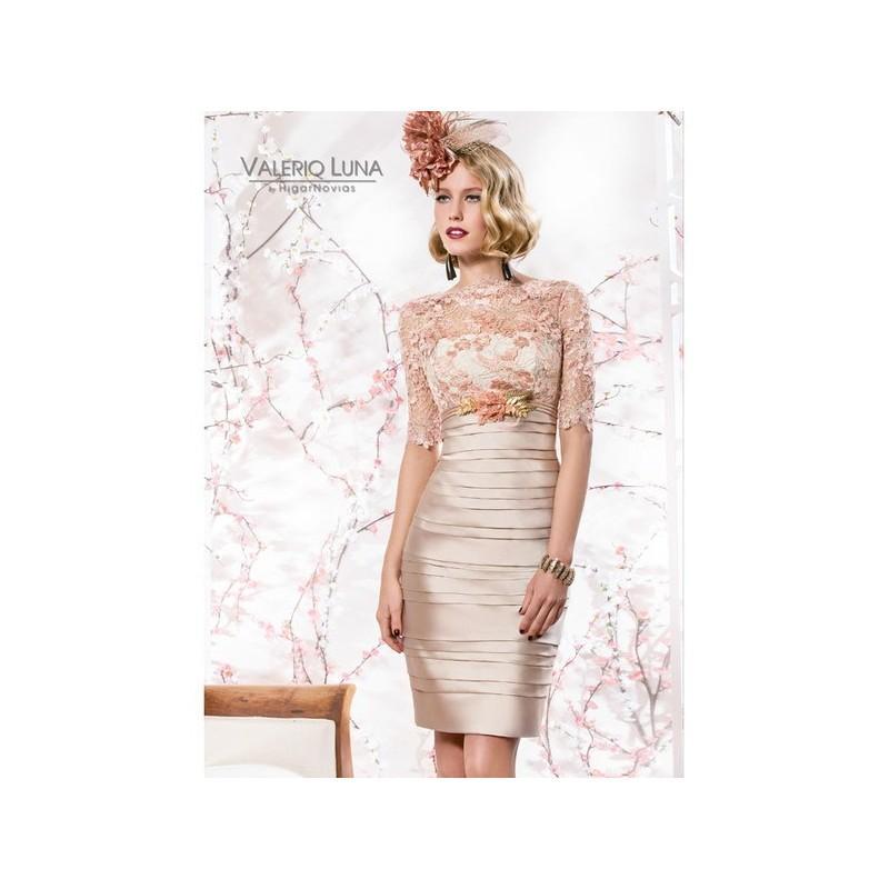 Hochzeit - Vestido de fiesta de Valerio Luna Modelo VL4548-1 - 2015 Vestido - Tienda nupcial con estilo del cordón