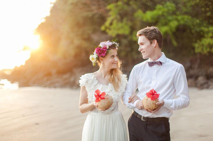 Wedding - Colorful Costa Rica Beach Elopement