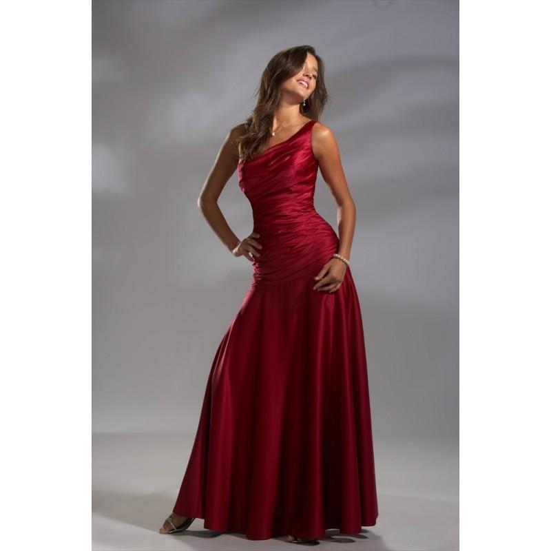 Wedding - Pretty Maids 22377 Long Satin Bridesmaids Dress - Crazy Sale Bridal Dresses