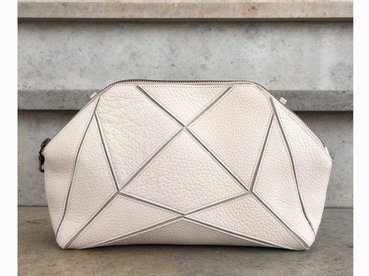Hochzeit - Hipster Bag, Cross Body Bag, Handmade Bag, Purple And Gray Print, Purse