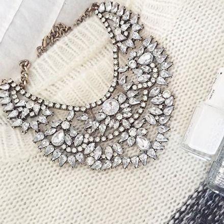 Wedding - Love Story Statement Necklace