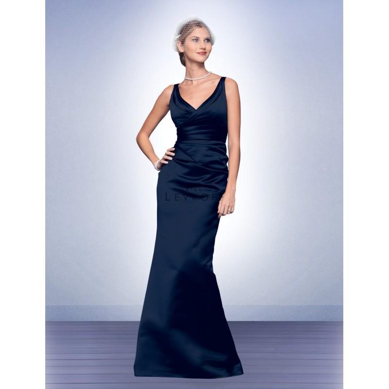 Wedding - Bill Levkoff Long Satin Bridesmaids Dress 526 - Crazy Sale Bridal Dresses