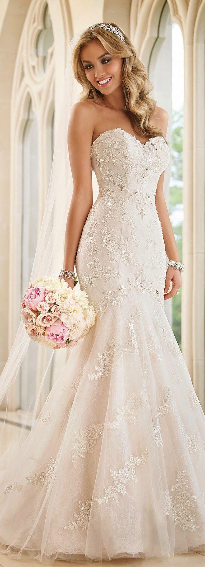 Wedding - Stella York Fall 2015 Wedding Dress