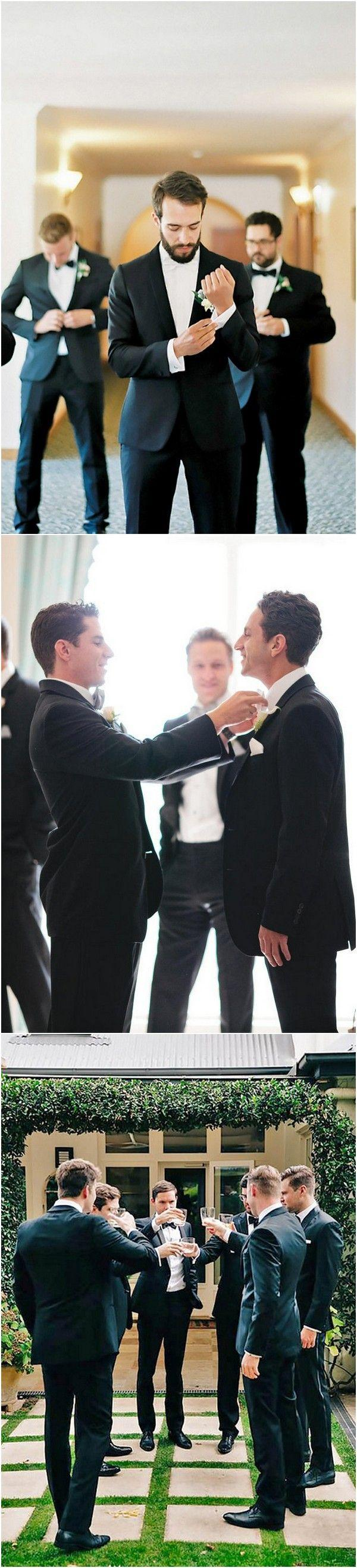 Wedding - 18 Awesome Wedding Photos With Groomsmen That You Can't Miss