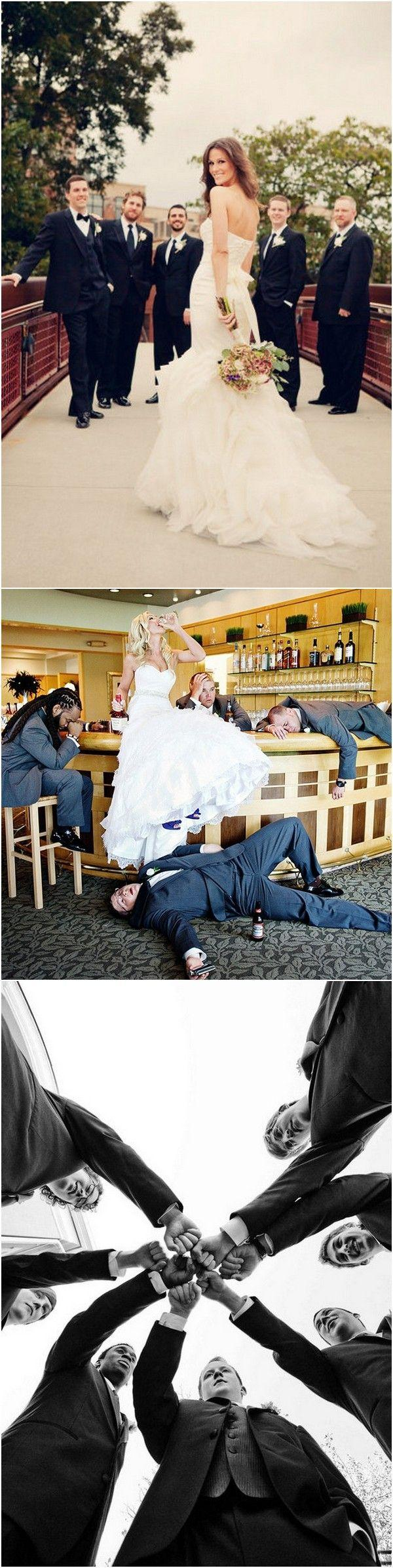 Wedding - 18 Awesome Wedding Photos With Groomsmen That You Can't Miss - Page 2 Of 3