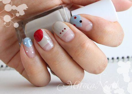 زفاف - Dotted Nails