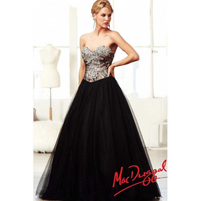 Свадьба - Mac Duggal Lace Ball Gown Prom Dress 81964H - Crazy Sale Bridal Dresses