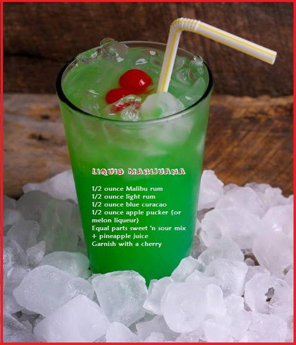 Hochzeit - Liquid Marijuana Drink