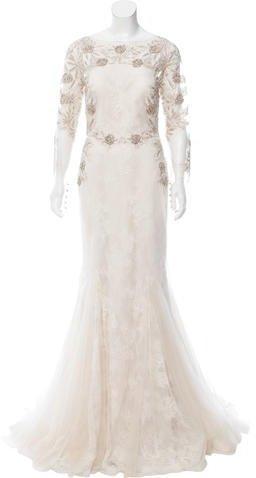 19d0474e27 Badgley Mischka Embellished Wedding Gown W  Tags  2757256 - Weddbook