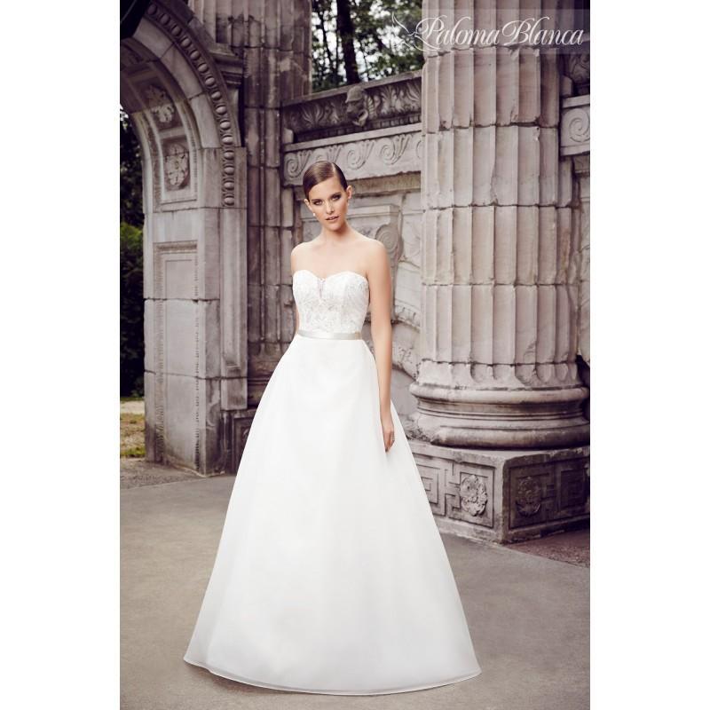 Hochzeit - Paloma Blanca 4558 - Stunning Cheap Wedding Dresses