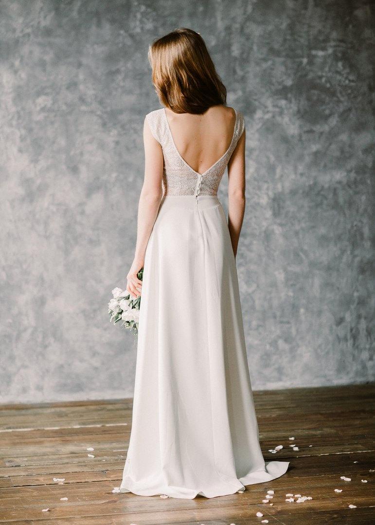 "Hochzeit - Boho wedding dress ""Moonlight"""