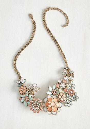 Свадьба - Vow To Wow Necklace In Blush