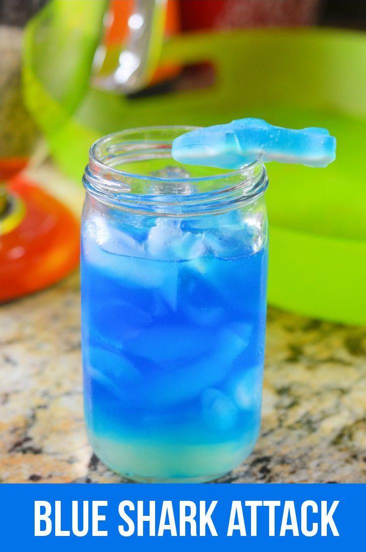 Wedding - Blue Shark Attack Cocktail