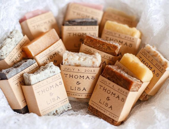 Boda - 20 Medium Wedding Favor Soap- Wedding Favor Soap, Soap Favor, Guest Soaps, Bridal Party Gift, Baby Shower Soap, Guest Soap Favors