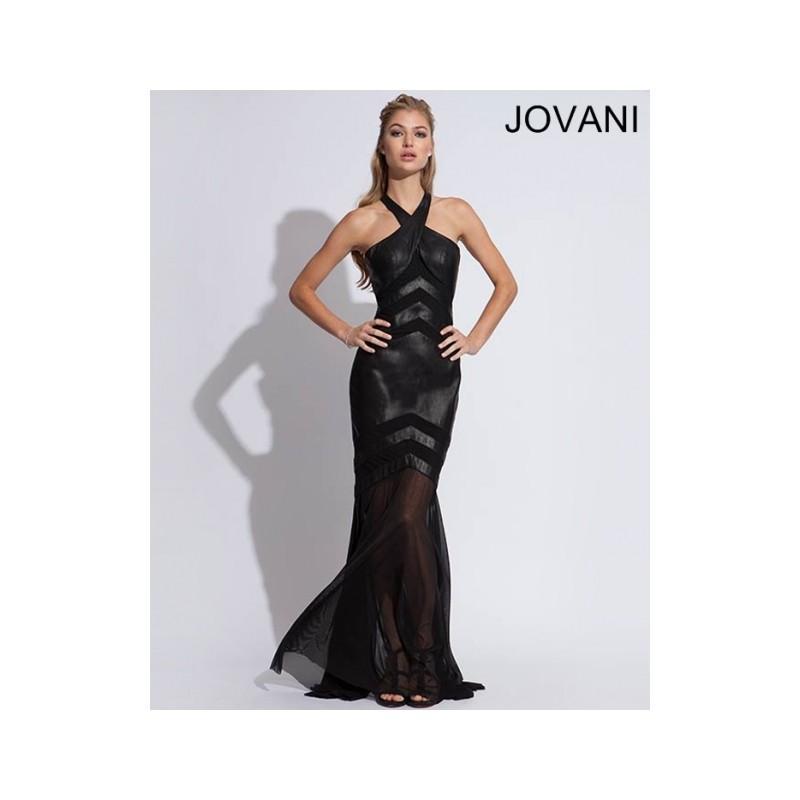 Classical Cheap New Style Jovani Prom Dresses 78666 Black New ...