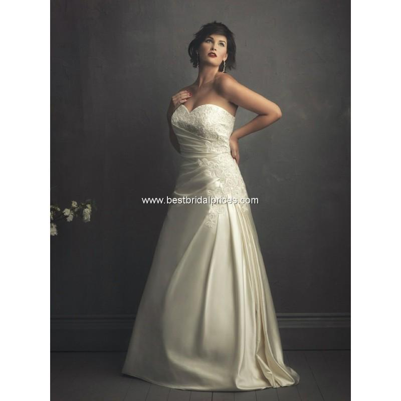 Hochzeit - Allure Women Wedding Dresses - Style W255 - Formal Day Dresses