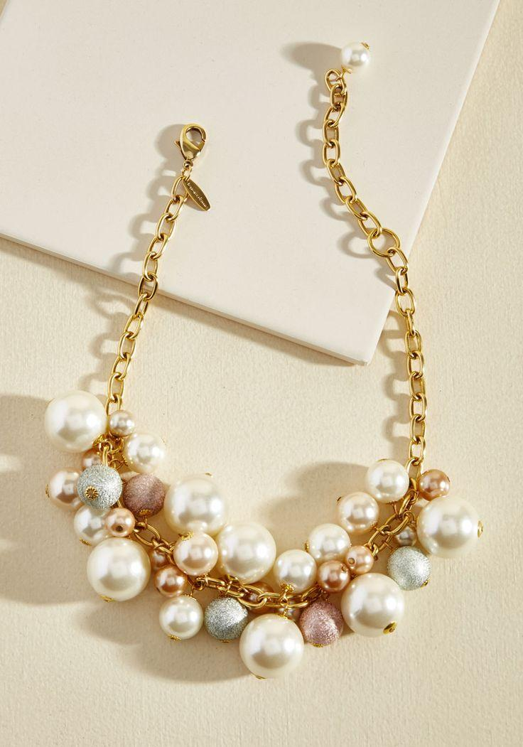 Wedding - Lenora Dame Thoughtful Bauble Necklace