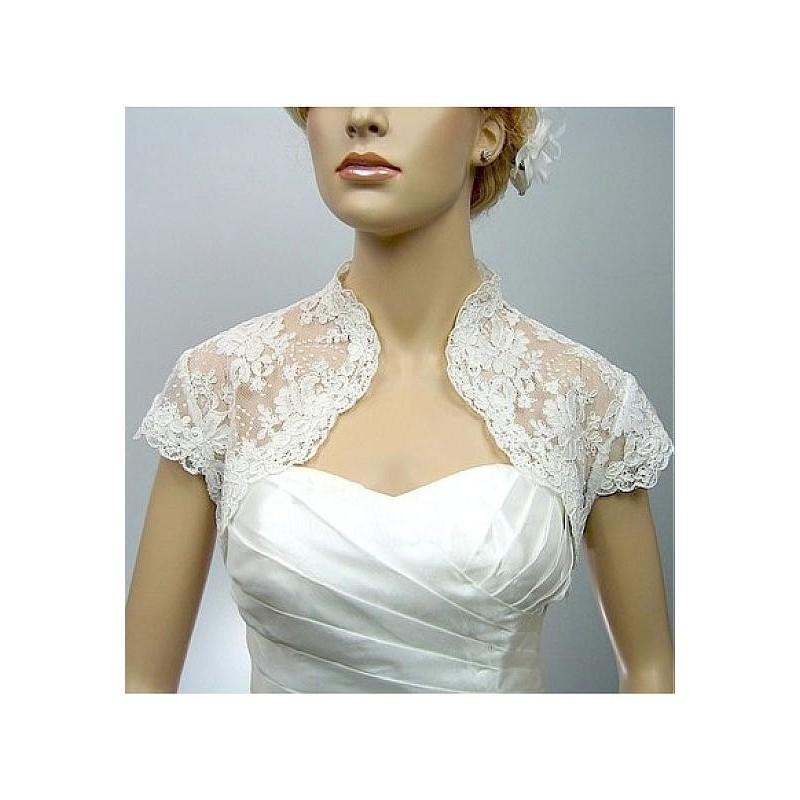 Wedding - Pretty Lace Women's Jacket Match Your Fabulous Dress - overpinks.com