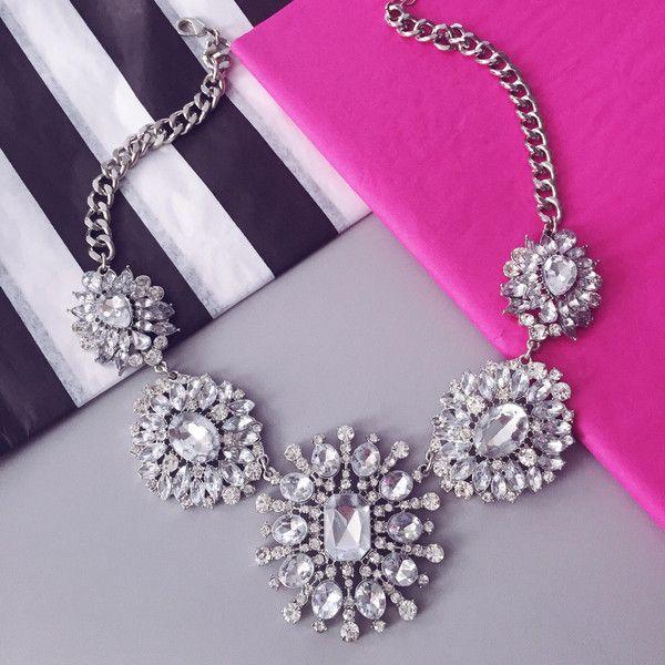 Wedding - Zelda Crystal Statement Necklace