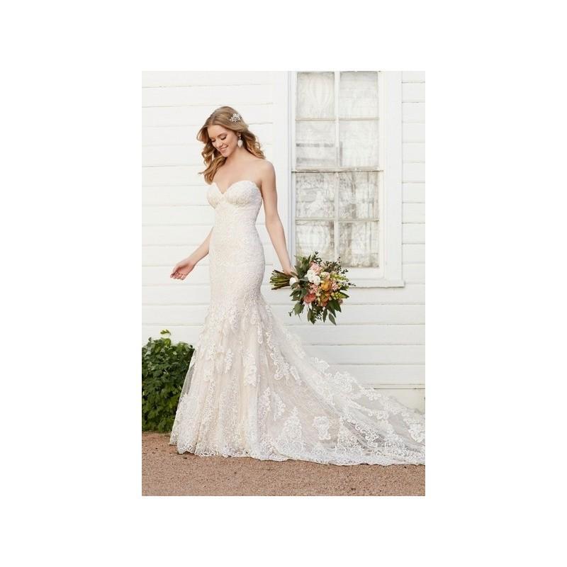 Wedding - Vestido de novia de Martina Liana Modelo 803 - 2017 Evasé Palabra de honor Vestido - Tienda nupcial con estilo del cordón