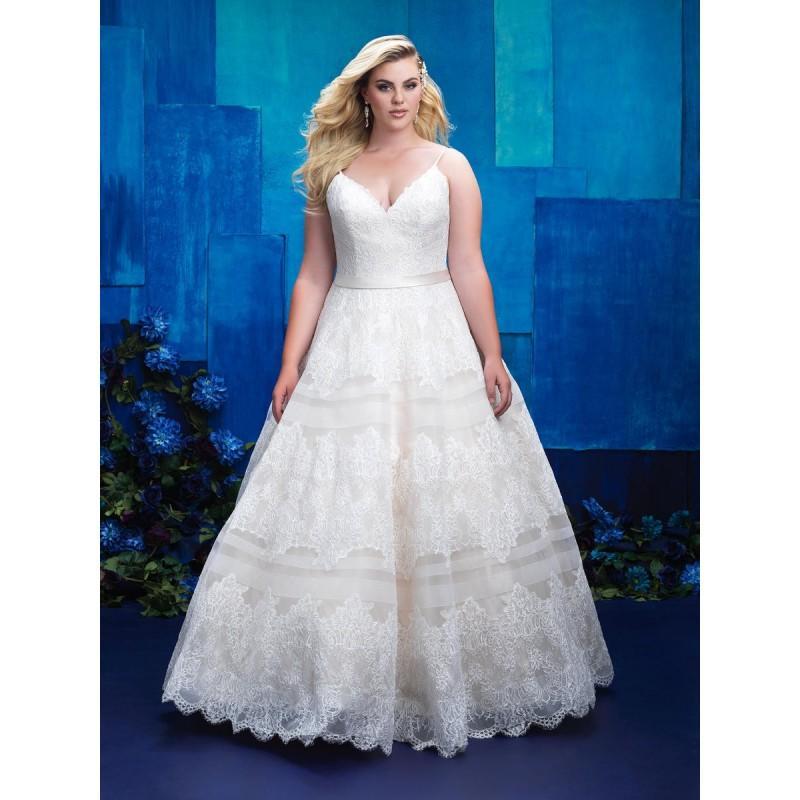 زفاف - Allure Bridal Women Size Colleciton W397 - Branded Bridal Gowns