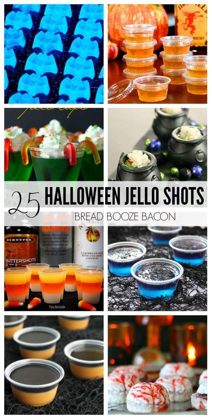 Cocktails & Drinks - 25 Halloween Jello Shots Recipes #2758533 ...