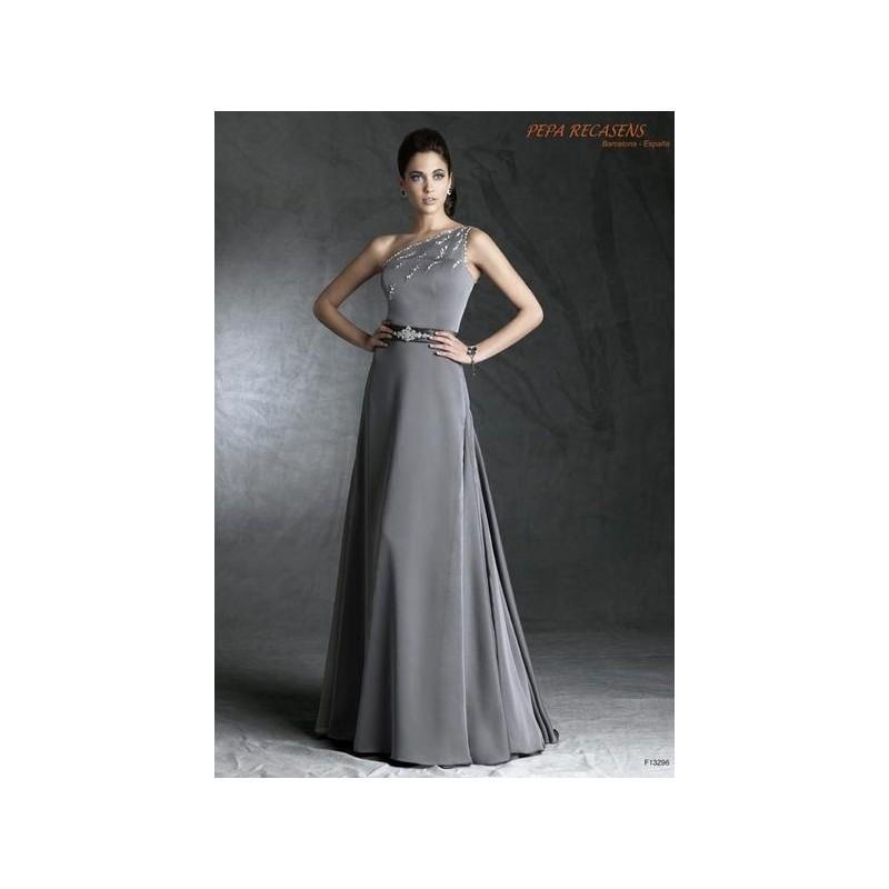 Wedding - Vestido de fiesta de Pepa Recasens Modelo F13296 - Tienda nupcial con estilo del cordón