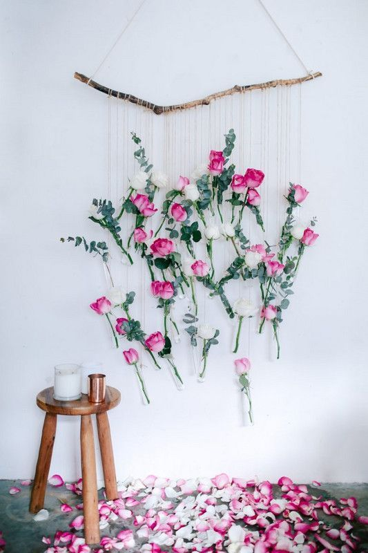 Wedding - Brilliant DIY Projects That Turn Blooms Into Decor