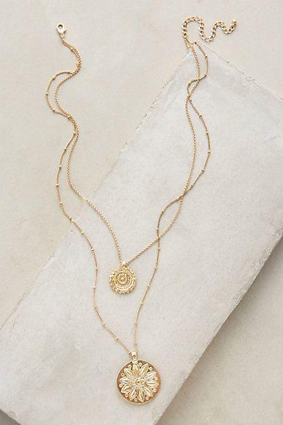 Mariage - Layered Emblem Necklace