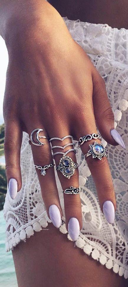 Wedding - Vintage Jeweled Rings