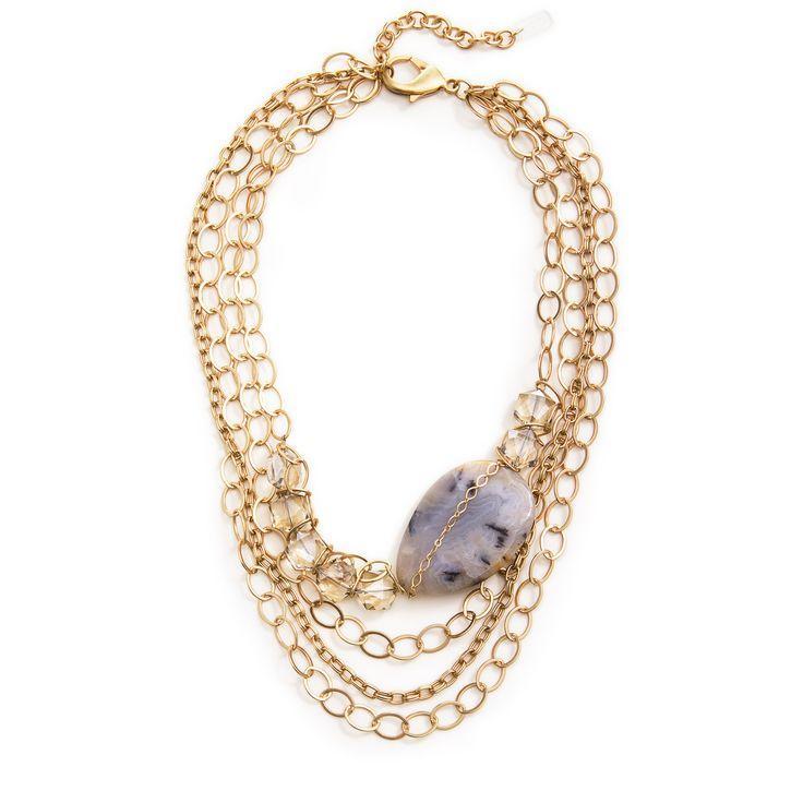 Свадьба - Chevalier Statement Necklace - Gold
