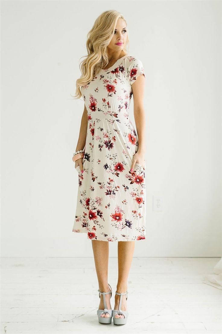 زفاف - The Mila Floral Dress