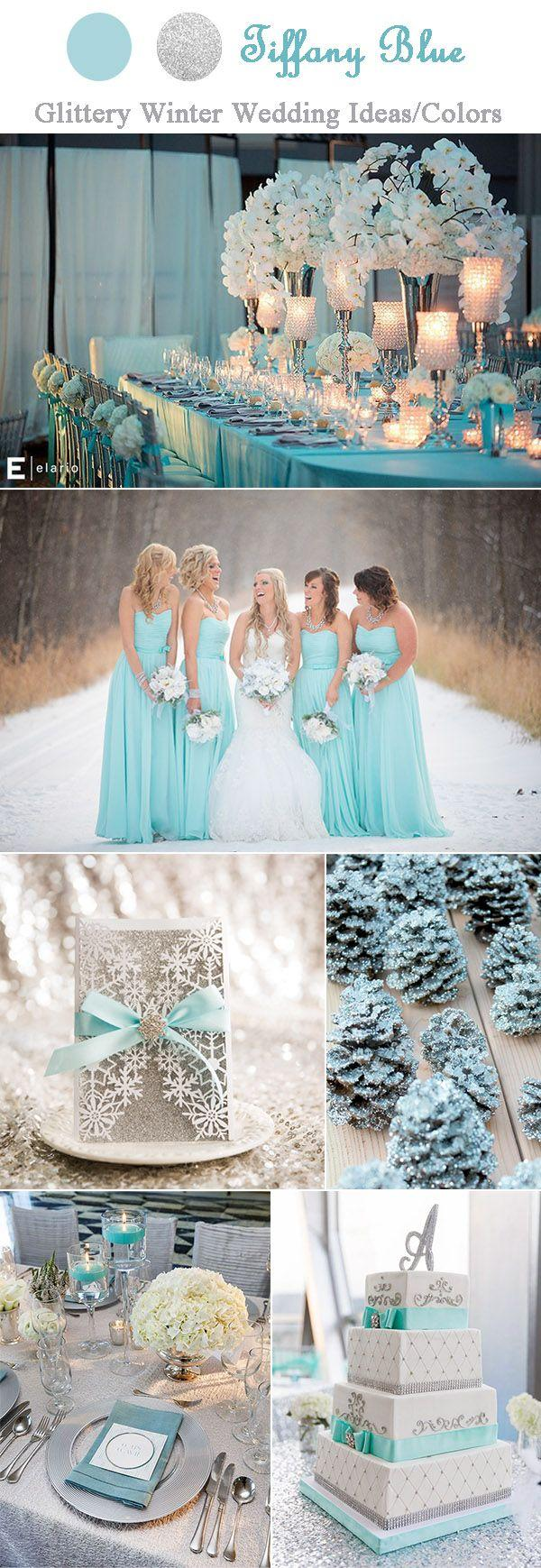 The Perfect Glitter And Sparkle Winter Wedding Ideas By Color And