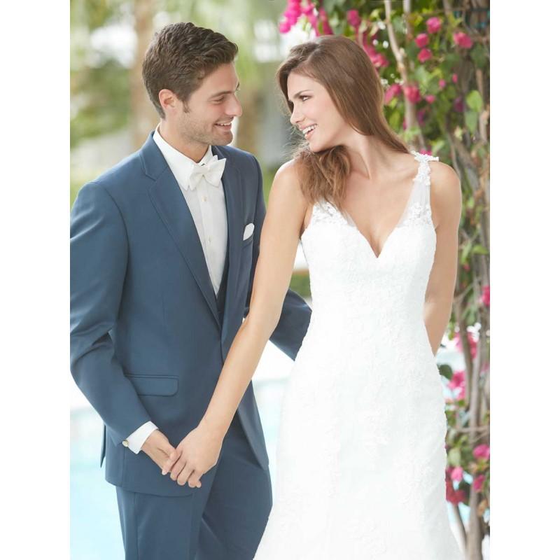 Wedding - Allure Romance 2013 Promo 2606F-SlateTux - Stunning Cheap Wedding Dresses