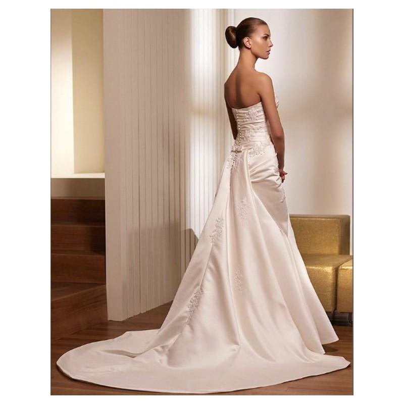 Wedding Dresses Prices   Nice Satin Sweetheart Empire Wedding Dresses In Canada Wedding Dress