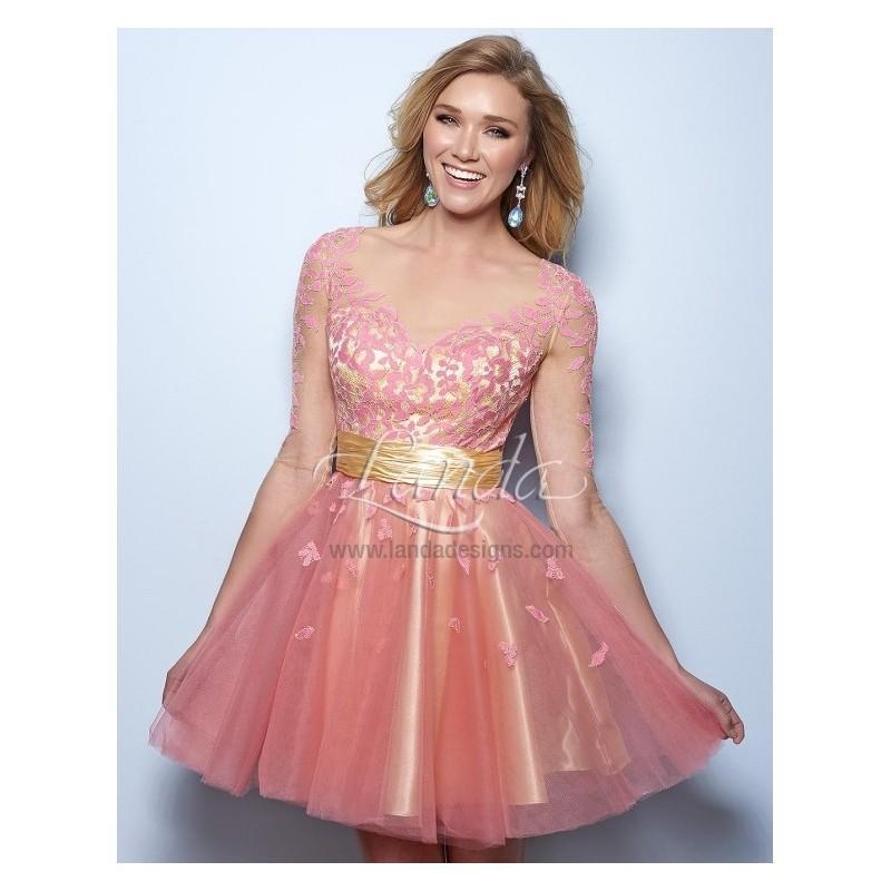 Wedding - Landa Designs E546 -  Designer Wedding Dresses