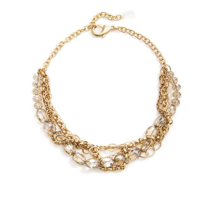 زفاف - Daphne Statement Necklace - Gold