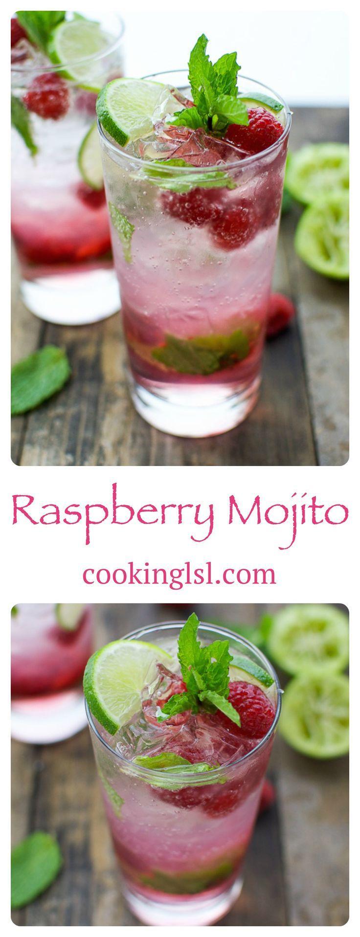 Hochzeit - Raspberry Mojito
