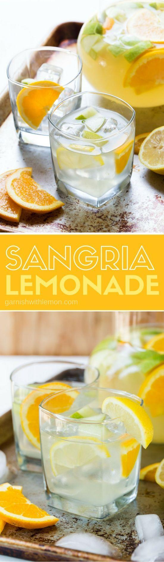 زفاف - Sangria Lemonade