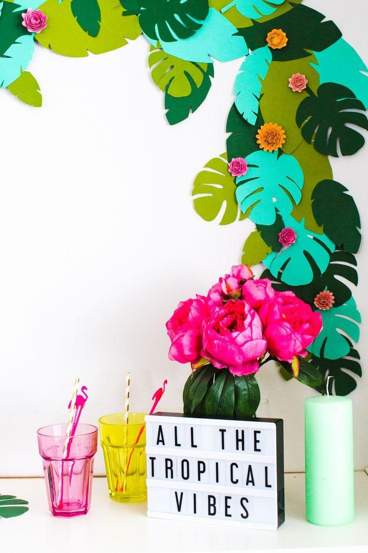 Boda - DIY Tropical Garland