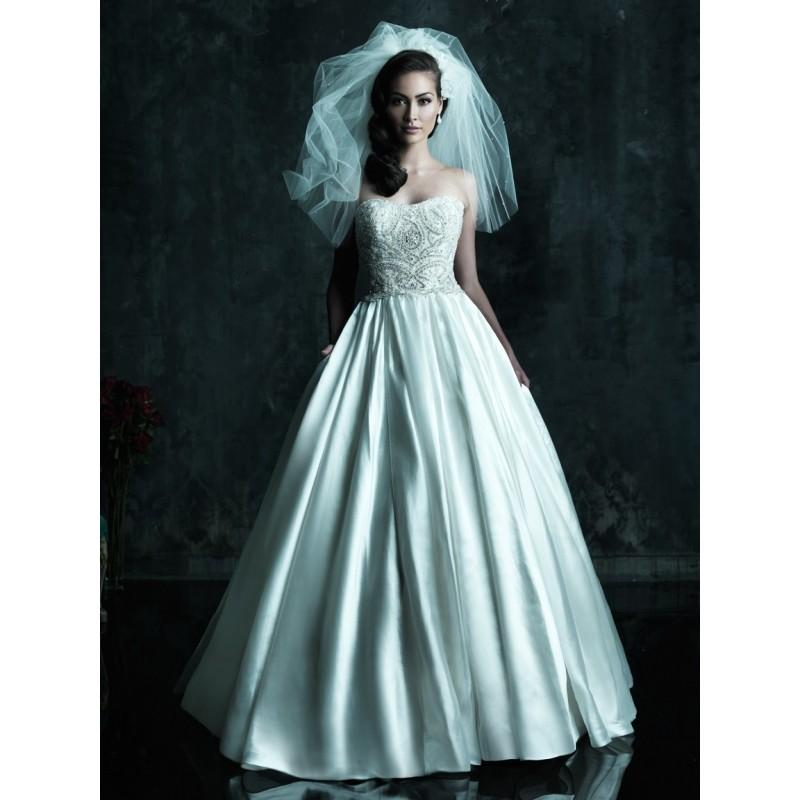 Allure Couture C247 Beaded Ball Gown Wedding Dress - Crazy Sale ...
