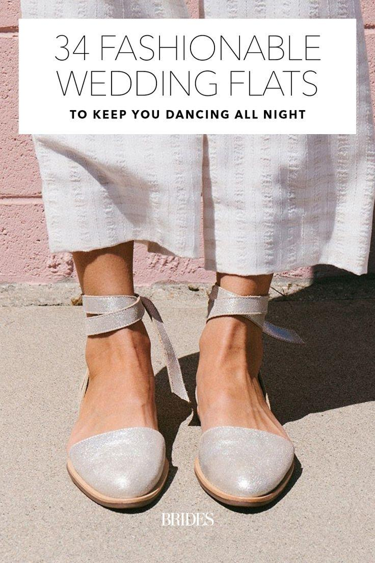 Hochzeit - 34 Fashionable Wedding Flats To Keep You Dancing All Night