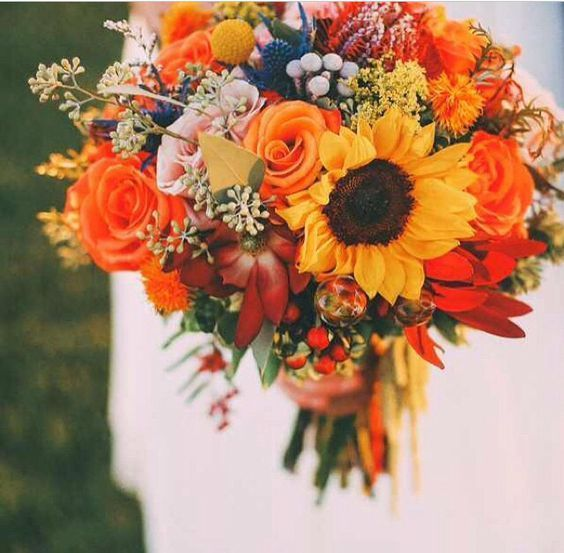 Hochzeit - 50 Fall Wedding Bouquets For Autumn Brides