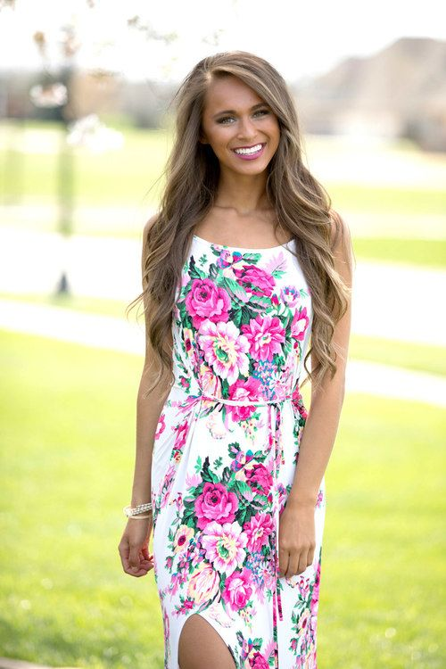 زفاف - Everything About You Floral Maxi Dress CLEARANCE