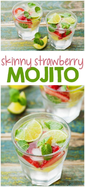 Wedding - Skinny Strawberry Mojito