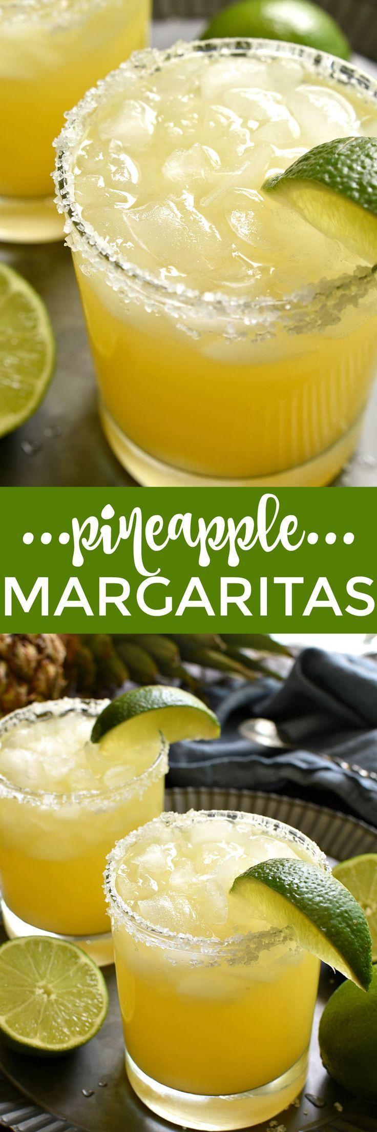 Hochzeit - Pineapple Margaritas